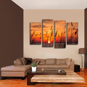 Sunrise By The Bay Multi Panel Canvas Wall Art - Nature