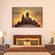 Sunset Buddha Multi Panel Canvas Wall Art