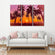 Sunset at Saint Thomas Multi Panel Canvas Wall Art