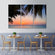 Sunset at Varadero Multi Panel Canvas Wall Art