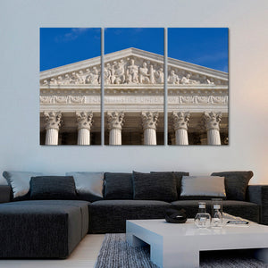 Supreme Court Multi Panel Canvas Wall Art - Law