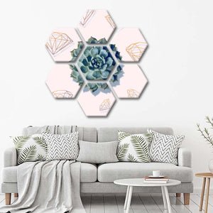 Diamonds In Bloom Multi Panel Canvas Wall Art - Botanical
