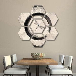 Enso Dragonfly Multi Panel Canvas Wall Art - Asian