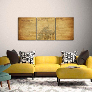 The American Spirit Multi Panel Canvas Wall Art - Army