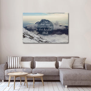 The Best View Canvas Wall Art - Inspiration