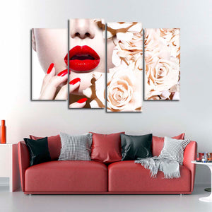 The Perfect Manicure Multi Panel Canvas Wall Art - Nails