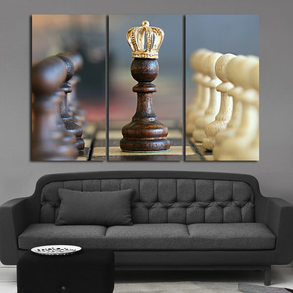 The Queen Multi Panel Canvas Wall Art