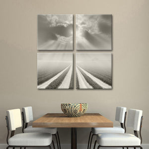 There is a God Somewhere Multi Panel Canvas Wall Art - Nature