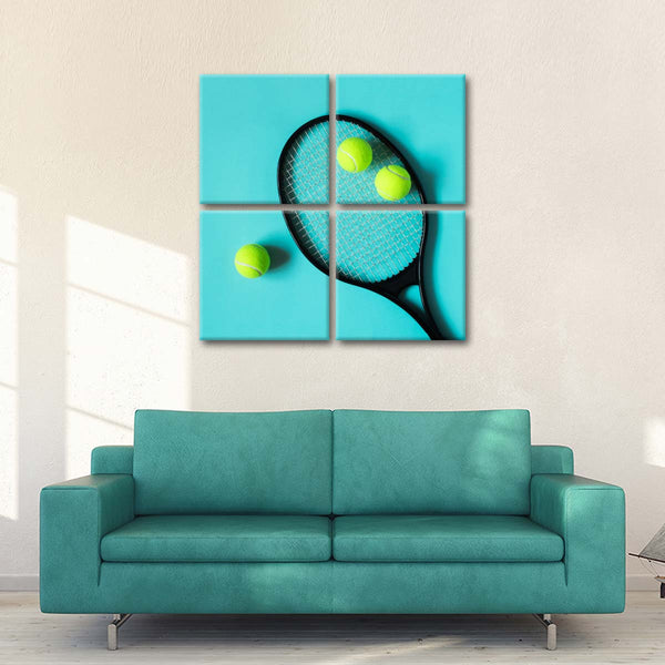 Topspin Shot Multi Panel Canvas Wall Art
