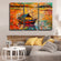 Traditional Fishing Boat Multi Panel Canvas Wall Art