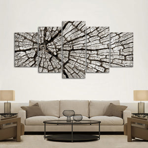 Tree Stub Multi Panel Canvas Wall Art - Nature
