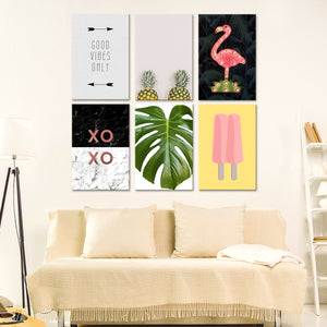 Trendy Canvas Set Wall Art - Indie