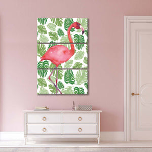 Tropical Flamingo I Multi Panel Canvas Wall Art - Indie