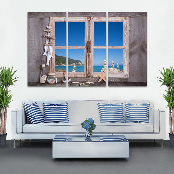 Tropical Home Multi Panel Canvas Wall Art