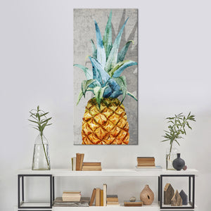 Tropical Pineapple Multi Panel Canvas Wall Art - Pineapple