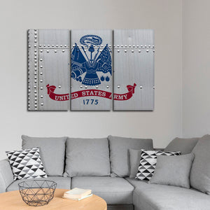 United States Army Multi Panel Canvas Wall Art - Army