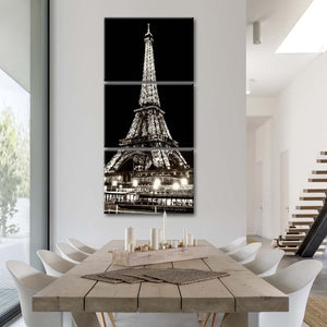 Vedettes De Paris Multi Panel Canvas Wall Art - Paris