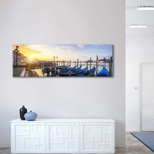 Venice Sunrise Multi Panel Canvas Wall Art - City