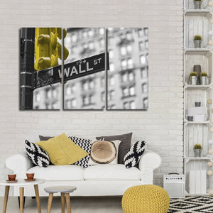 Wall Street Pop Multi Panel Canvas Wall Art - City