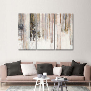 Warm Winter Light II Multi Panel Canvas Wall Art - Nature