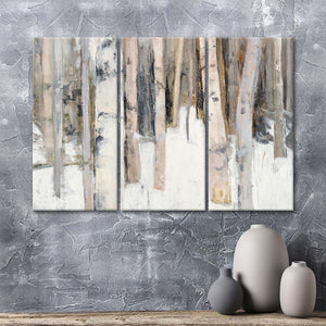 Warm Winter Light I Multi Panel Canvas Wall Art - Nature