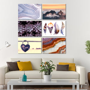 Warm Tones Canvas Set Wall Art - Indie