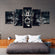 Warrior Within Multi Panel Canvas Wall Art