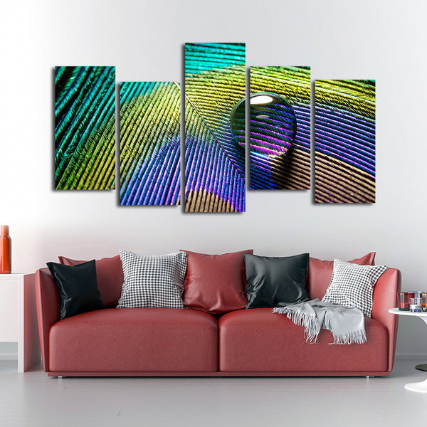Water Pearl Multi Panel Canvas Wall Art