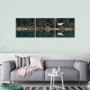 Weekend Getaway Multi Panel Canvas Wall Art - Nature