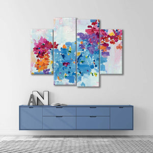 What Dreams Look Like Multi Panel Canvas Wall Art - Abstract