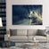 White Wolf Multi Panel Canvas Wall Art