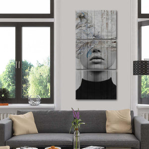 Windmills Of Your Mind Within Multi Panel Canvas Wall Art - Portrait
