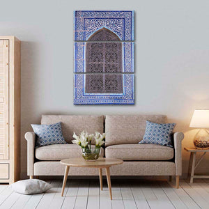 Window Ornaments Multi Panel Canvas Wall Art - Africa
