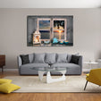 Window to the Ocean Multi Panel Canvas Wall Art