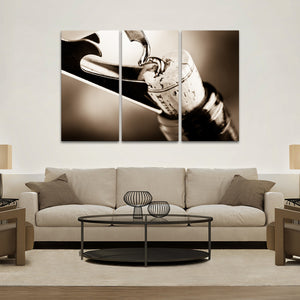 Wine Cork Multi Panel Canvas Wall Art - Winery