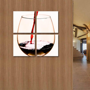 Wine O'clock Multi Panel Canvas Wall Art - Winery