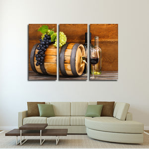 Wine Country Multi Panel Canvas Wall Art - Winery