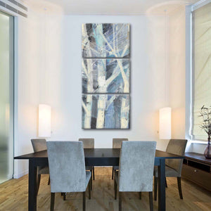 Winter Birches I Multi Panel Canvas Wall Art - Nature