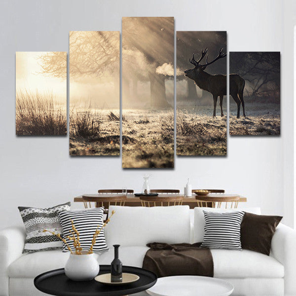 Hunting Wall Art Canvas Prints Hunting Panoramic