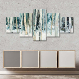 Winter Woods III Multi Panel Canvas Wall Art - Nature