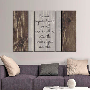 Within The Home Multi Panel Canvas Wall Art - Inspiration
