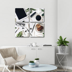 Workplace Multi Panel Canvas Wall Art - Professions