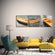 Yellow Boats Canvas Set Wall Art