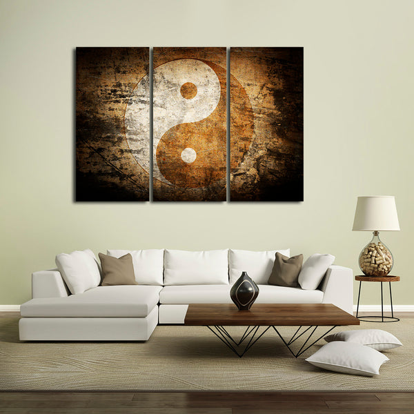 Yin-Yang Multi Panel Canvas Wall Art | ElephantStock