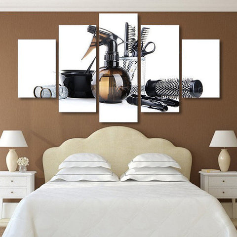 Hair Salon Multi Panel Canvas Wall Art