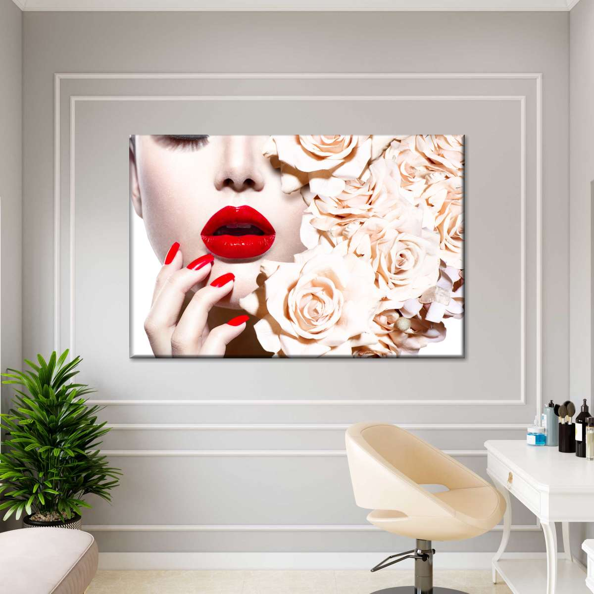 The Perfect Manicure Multi Panel Canvas Wall Art