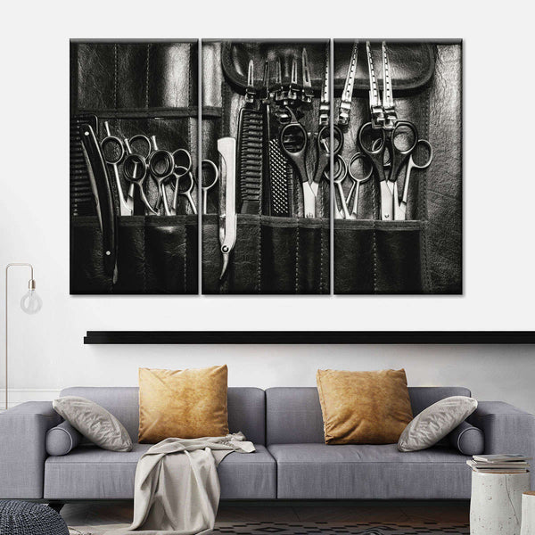 Hairstylist Multi Panel Canvas Wall Art
