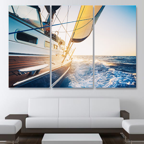 Sail Away With Me Multi Panel Canvas Wall Art