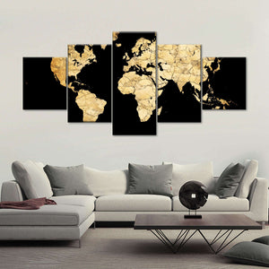 5 Piece - World_map