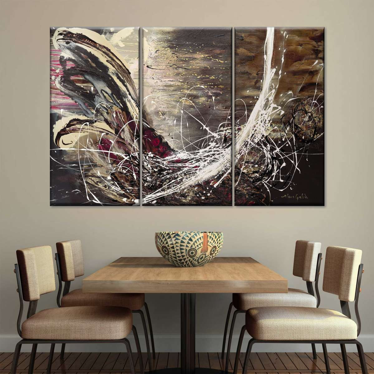 Here Comes The Night Multi Panel Canvas Wall Art